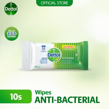 Dettol Anti-Bacterial Wet Wipes 10s