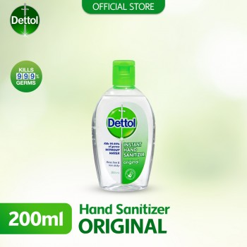 Dettol Hand Sanitiser Original 200ml