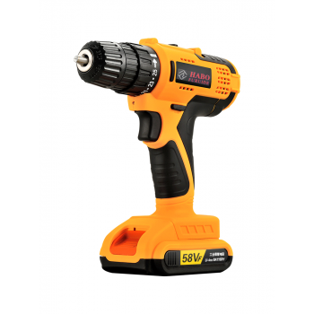 Habo JT58VF Double Speed Electric Drill 21V with One 2000mah Battery