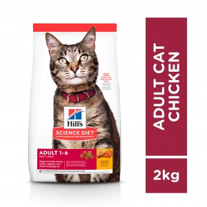 Hill's Science Diet Adult Chicken Recipe Cat Food 2kg