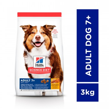 Hill's Science Diet Adult 7+ Chicken Meal, Barley & Rice 3kg