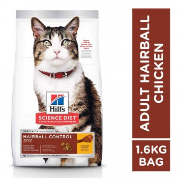 Hill's Science Diet Adult 7+ Hairball Control 1.6kg