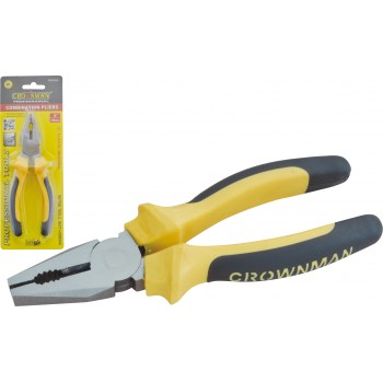 "Crownman 6"" Germany Type Combination  Pliers【YJ0502406】"