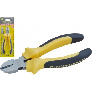 "Crownman 6"" Germany Type Diagonal Pliers【YJ0502426】"