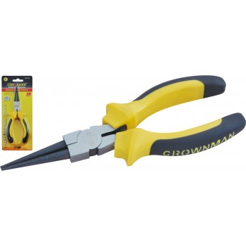 "Crownman 6"" Germany Type Round Nose Pliers【YJ0502526】"
