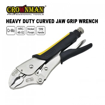 "Crownman 7"" Heavy Duty Grip Wrench with TRP Handle【YJ0560127】"