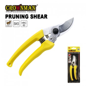 Crownman Professional Pruning Shear with Plastic Handle【YJ 0580307 】