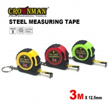 Crownman 3mx12.5mm Double Color ABS Case Steel Measuring Tape【YJ 0901003】