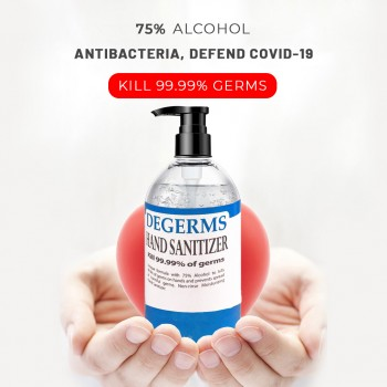 Degerms Hand Sanitizer (500ml) - KKM Approved