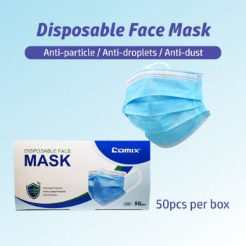Comix Disposable Protective Face Mask 3-Ply (GB/T 32610-2016)