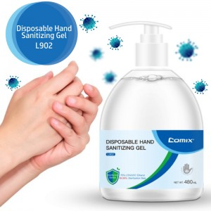 Comix Hand Sanitizing Gel 480ml