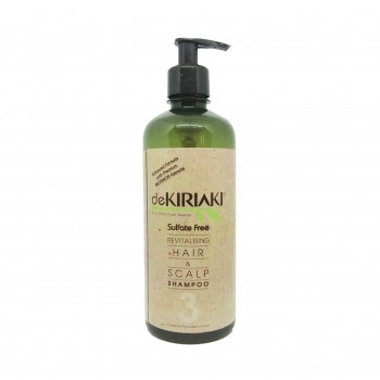 Dekiriaki Revitalising Hair & Scalp Shampoo 500ml