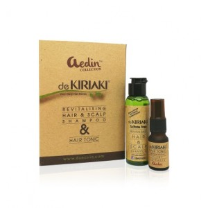 Dekiriaki Hair Tonic and Hair Shampoo Travel Set
