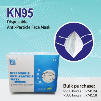 QDYJ KN95 Face Mask 4-ply (20pcs/box)