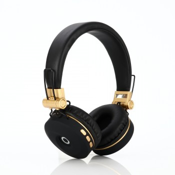 Lule EK-MH9BG Wireless Bluetooth Sports Earphone- Black Gold (Delivery in 2 weeks, MOQ10PCS)