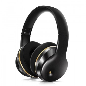 Lule Wireless Bluetooth Wear Noise-Cancelling Headphones - Black (Delivery in 2 weeks, MOQ10PCS)