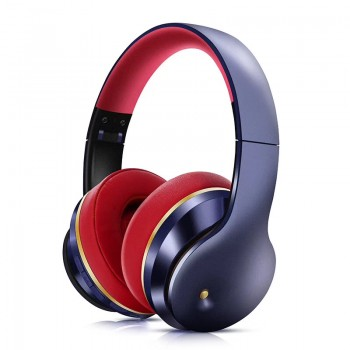 Lule Wireless Bluetooth Wear Noise-Cancelling Headphones -Blue (Delivery in 2 weeks, MOQ10PCS)