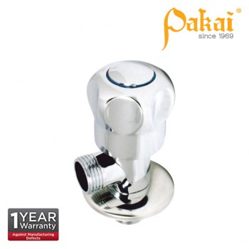 Pakai Crown Knob Handle Angle Valve With Flange PK-CRW-AV