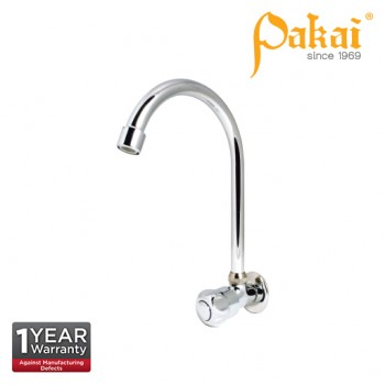 Pakai CROWN Knob Handle Wall Sink Tap PK-CRW-WST