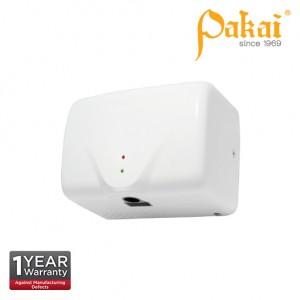 Pakai Automatic High Speed Hand Dryer in White ABS Casing with UV Sterilization Light PK-HD-2803K