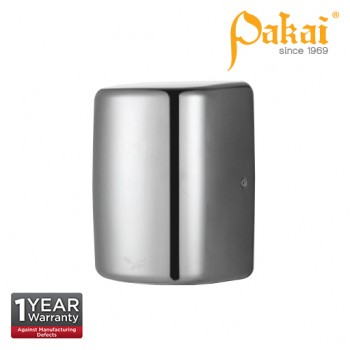 Pakai Automatic High Speed Hand Dryer in Satin Stainless Steel Casing with UV Sterilization Light PK-HD-5803ESS