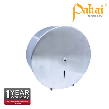 Pakai Stainless Steel Jumbo Roll Tissue Dispenser PK-SSJRD-R01