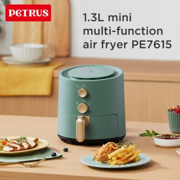 Petrus PE7615 1.3L Mini Household Automatic Non-oily Fume Air Fryer