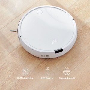 Puppyoo R30CYCLONE Robot Vacuum Cleaner with Sweeping and Mopping Function