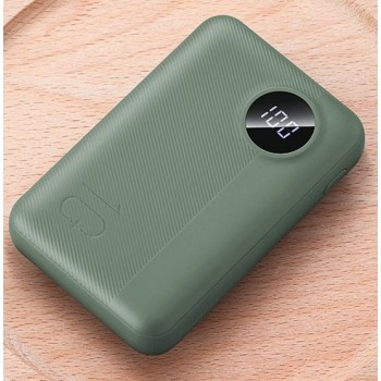 Rock P75-G Mini PD Fast Charge and Wireless Power Bank 10000mAh - Green