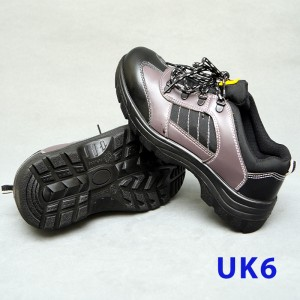 Sport Type Laced Safety Shoe - Low Cut (UK6)