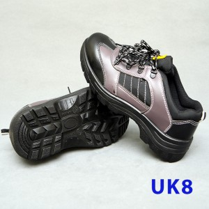 Sport Type Laced Safety Shoe - Low Cut (UK8)