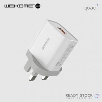WK Design WP-U57 Dual USB Port Adapter Charger 2.0A Maxspeed USB Charger